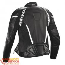 Мотокуртка Spidi P100 GP LEATHER WIND JACKET размер 56 black/white, Фото 2
