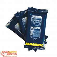 Салфетка бумажная MANNOL Plastic (Interior)Cleaning Wipes