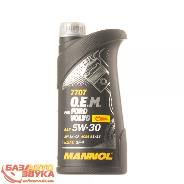 Моторное масло MANNOL 7707 O.E.M. for Ford Volvo 5W-30 1л: отзывы, характеристики и фото