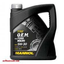 Моторное масло MANNOL 7707 O.E.M. for Ford Volvo 5W-30 4л