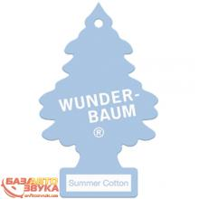 Ароматизатор Wunder-Baum Little Trees Summer Cotton 1723