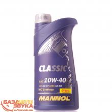 Моторное масло MANNOL CLASSIC 10W-40 1л