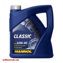 Моторное масло MANNOL CLASSIC 10W-40 4л