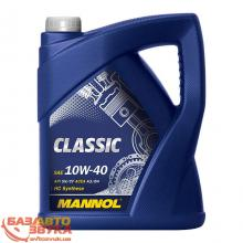 Моторное масло MANNOL CLASSIC 10W-40 5л