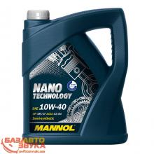 Моторное масло MANNOL NANO TECHNOLOGY 10W-40 5л