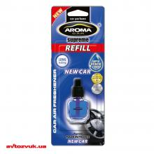 Ароматизатор Aroma Car Supreme Refill New Car 624 8мл
