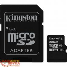 Флеш память Kingston MicroSDHC 32Gb UHS-1 Class10 with adapter