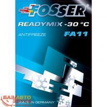 Антифриз FOSSER antifreeze fa g11 ready mix -30 1л, Фото 4