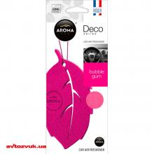 Ароматизатор Aroma Car Deco Leaf Bubble Gum 92701