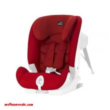 Детское автокресло BRITAX-ROMER ADVANSAFIX II Flame Red, Фото 2