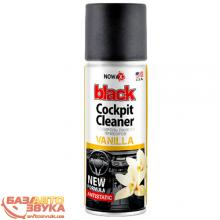 Полироль пластика NOWAX BLACK Cockpit Cleaner NX00451 450ml