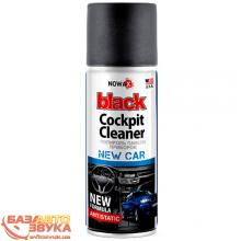 Полироль пластика NOWAX BLACK Cockpit Cleaner NX00455 450ml
