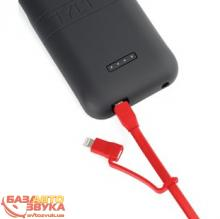 MicroUSB адаптер Tylt Flyp Duo Reversible USB to microUSB/Lightning Charge & Sync Cable Red (DUO-REV1MRD-T), Фото 4