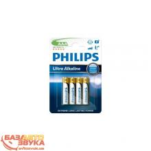 Элемент питания Philips LR03/AAA Ultra Alkaline (4 шт)