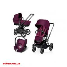 Детское автокресло Cybex Cloud Q PLUS Princess Pink-purple 516110027, Фото 3