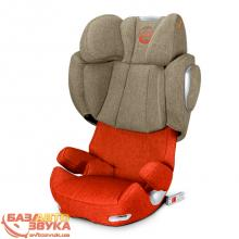 Кресло Cybex Solution Q2-fix Plus Autumn Gold Denim-burnt red 515120031
