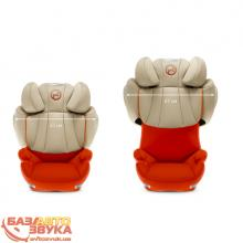 Кресло Cybex Solution Q2-fix Plus Autumn Gold Denim-burnt red 515120031, Фото 2