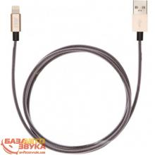 iPhone/iPod/iPad адаптер JUST Selection Lightning USB (MFI) Cable Gold (LGTNG-SLCN-GLD), Фото 3