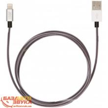 iPhone/iPod/iPad адаптер JUST Selection Lightning USB (MFI) Cable Silver (LGTNG-SLCN-SLVR), Фото 2