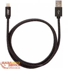 iPhone/iPod/iPad адаптер JUST Unique Lightning USB Cable Black (LGTNG-UNQ-BLCK), Фото 2