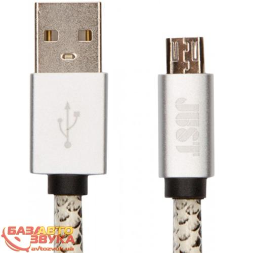 MicroUSB адаптер JUST Unique Micro USB Cable Snake (MCR-UNQ-SNK): отзывы, характеристики и фото