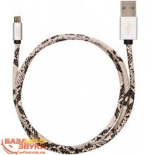 MicroUSB адаптер JUST Unique Micro USB Cable Snake (MCR-UNQ-SNK), Фото 2
