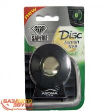 Ароматизатор Aroma Car Disc (black case) Lemon 10г 924015