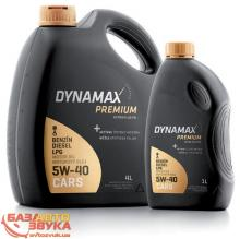 Моторное масло DYNAMAX PM ULTRA PLUS PD 5W40 4л