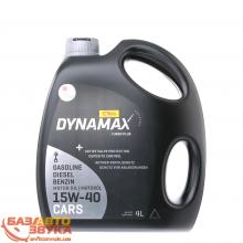 Моторное масло DYNAMAX TURBO PLUS 15W40 4л