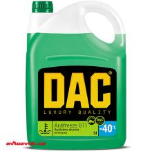 Антифриз DAC Heavy Duty G11 зеленый -40°C 5л