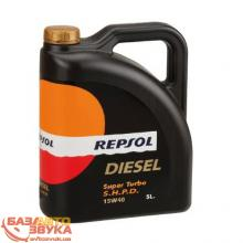 Моторное масло REPSOL Diesel Super Turbo S.H.P.D. 15W40 5л, Фото 2