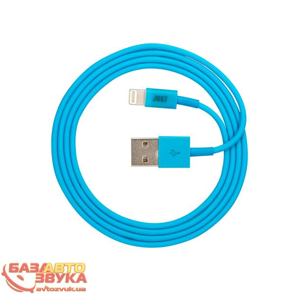 iPhone/iPod/iPad адаптер JUST Simple Lighting USB Cable Blue 1M LGTNG-SMP10-BLUE: отзывы, характеристики и фото