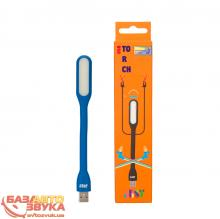Фонарь JUST USB Torch Blue LED-TRCH-BLUE, Фото 3