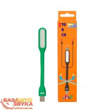 Фонарь JUST USB Torch Green LED-TRCH-GRN, Фото 3