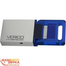 Флеш память Verico USB 8Gb Hybrid Mini Blue VP57-08GBV1G