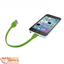 Адаптер Trust URBAN FLAT LIGHTNING CABLE 20cm Lime (20134), Фото 5