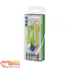 Адаптер Trust URBAN FLAT LIGHTNING CABLE 20cm Lime (20134), Фото 8