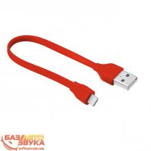 Адаптер Trust URBAN FLAT LIGHTNING CABLE 20cm Red (20133)