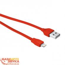 Адаптер Trust URBAN FLAT LIGHTNING CABLE 20cm Red (20133), Фото 4