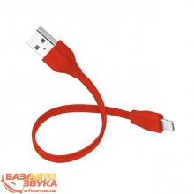 Адаптер Trust URBAN FLAT LIGHTNING CABLE 20cm Red (20133), Фото 6