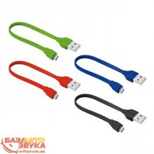 Адаптер Trust URBAN FLAT MICRO-USB CABLE 20cm BLUE (20140), Фото 7