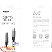 iPhone/iPod/iPad адаптер NILLKIN Lightning Cable GENTRY - 1M Black 100см MFI (6274401), Фото 7