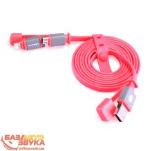 iPhone/iPod/iPad адаптер NILLKIN Plus Cable II - 1M Red 120см (6274425), Фото 4