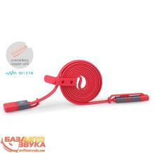 iPhone/iPod/iPad адаптер NILLKIN Plus Cable II - 1M Red 120см (6274425), Фото 6
