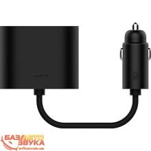 Разветвитель Xiaomi RoidMi 1 to 2 charger car adapter Black