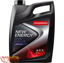 Моторное масло Champion New Energy 5W30 ASIA/US, 5л