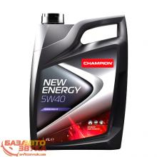 Моторное масло Champion New Energy 5W40, 4л, Фото 2