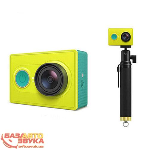 Камера для экстрима Xiaomi Yi Sport Green Travel International Edition + Remote control: отзывы, характеристики и фото
