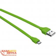 Кабель USB Trust URBAN Micro-USB Cable 1m (Lime) 20138: Купить за 149 грн