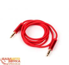 Адаптер ULTRA UC73-0100 red 3,5 мм 1м